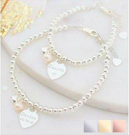 KAYA sieraden Twee 'Cute Balls' armbanden