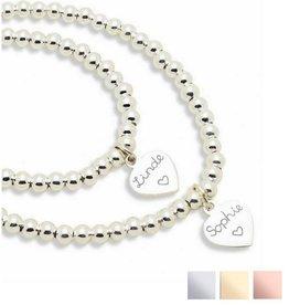 KAYA sieraden Silver bracelets set 'Cute Balls' - Copy - Copy