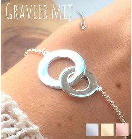 KAYA sieraden Personalized Bracelet 'Stiffened'