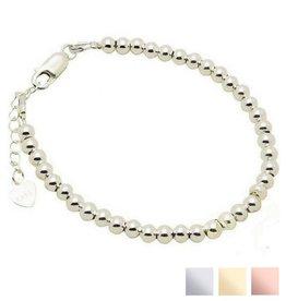KAYA sieraden Zilveren armband 'Cute Balls'