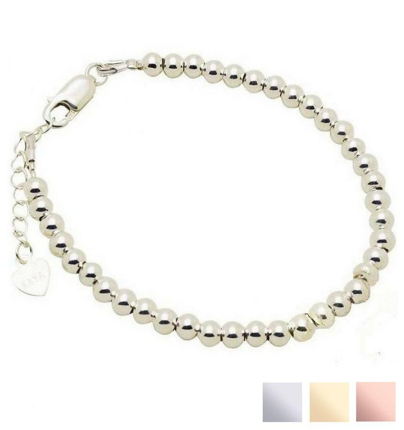 Zilveren armband 'Cute Balls'