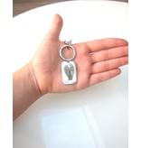 KAYA sieraden Keychain with photo and text