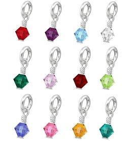 SWAROVSKI® Birth Crystal (Silver)