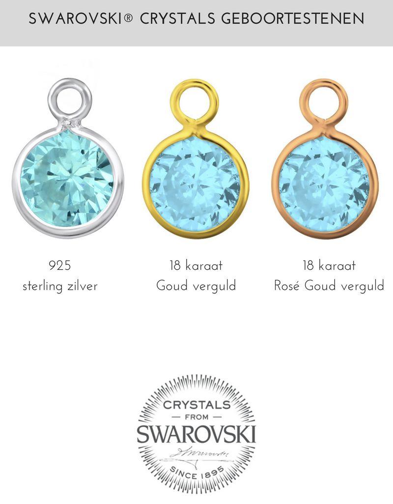 KAYA sieraden Swarovski® Bedel Geboortekristal