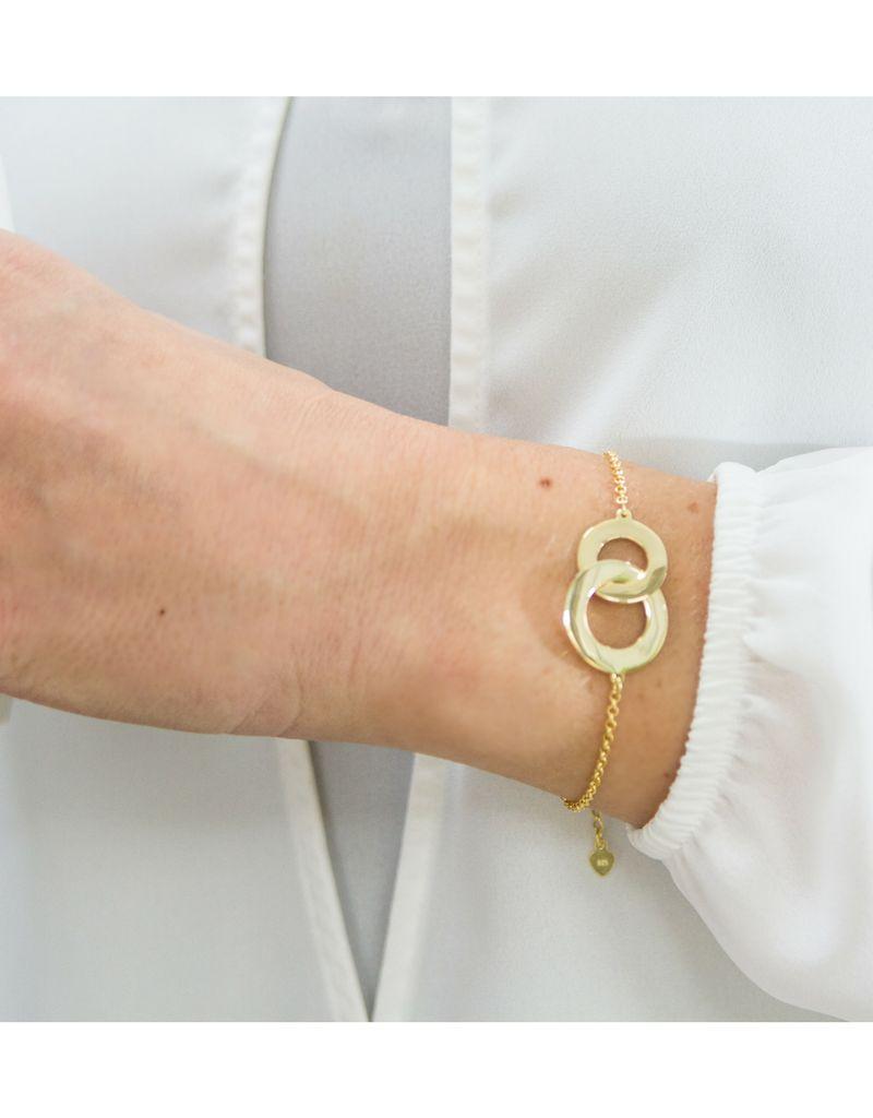 Gepersonaliseerde armband 'Verstrengeld'
