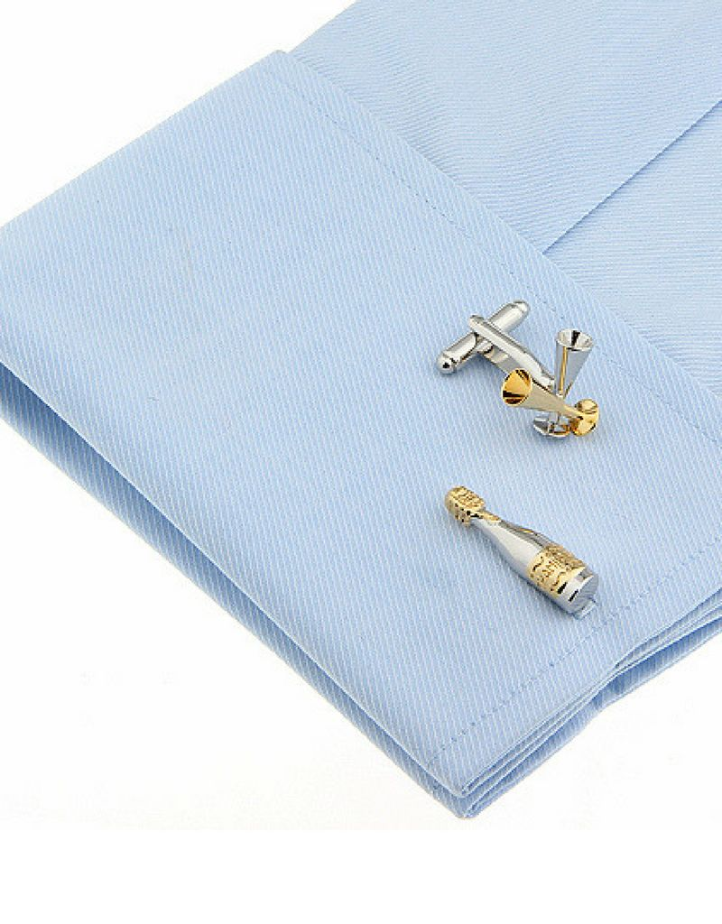 KAYA sieraden Cufflinks 'blocks' - Copy - Copy - Copy