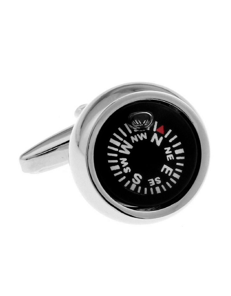 KAYA sieraden Manchetknopen 'kompas'
