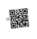 KAYA sieraden Manchetknopen 'QR-code'