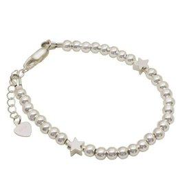 Zilveren armband 2 sterren