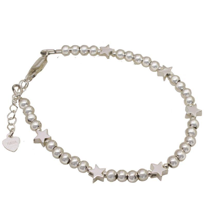 KAYA sieraden Silver bracelet 'Cute Balls' - Copy - Copy - Copy - Copy - Copy - Copy