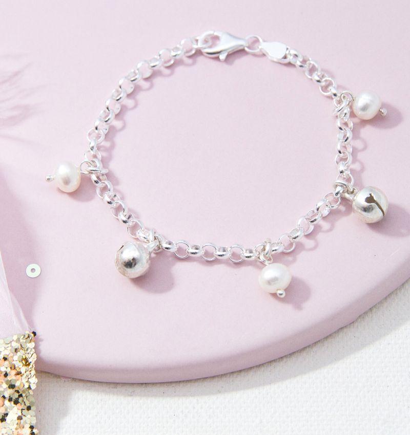 KAYA sieraden Silver baby bracelet 'Twinkle Star' - Copy