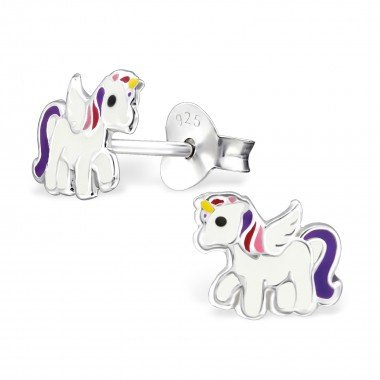 Silver childrens earrings - Copy