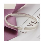 Personalized bracelet - stainless steel - Copy