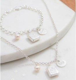 KAYA sieraden Silver jasseron bracelet 'communion' - Copy