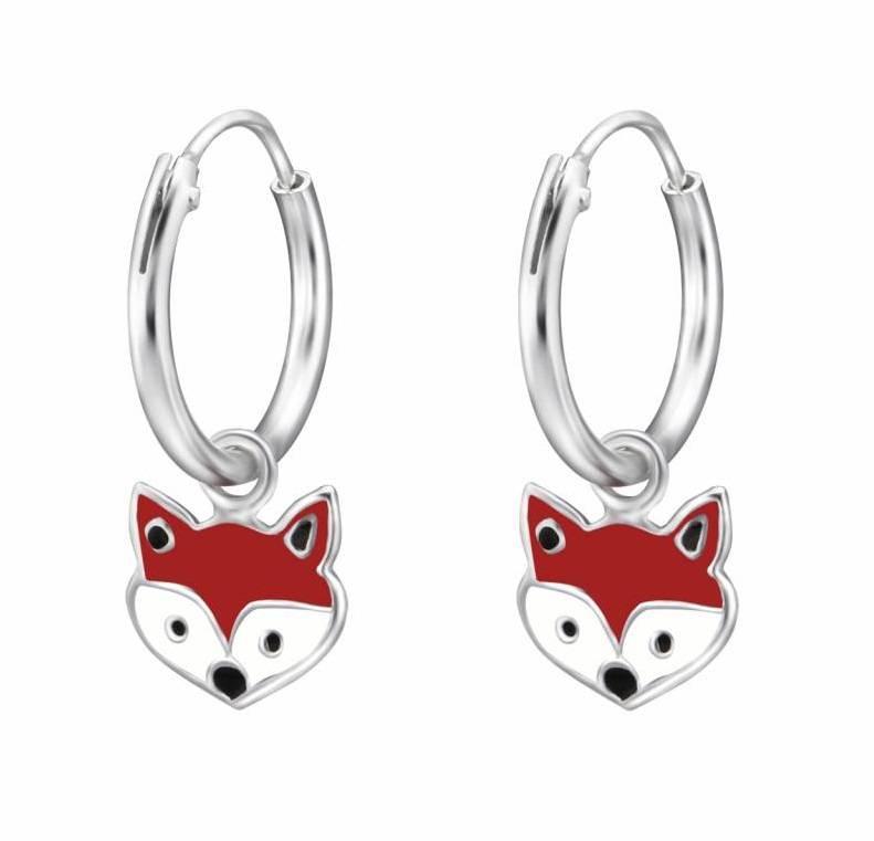 Silver childrens earrings