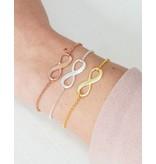 KAYA sieraden Zilveren 3 generatie set 'infinity' met gravure