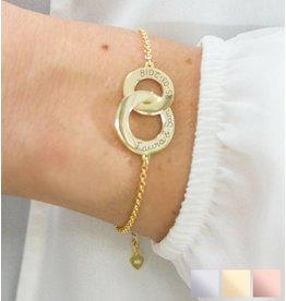 KAYA sieraden Gepersonaliseerde armband