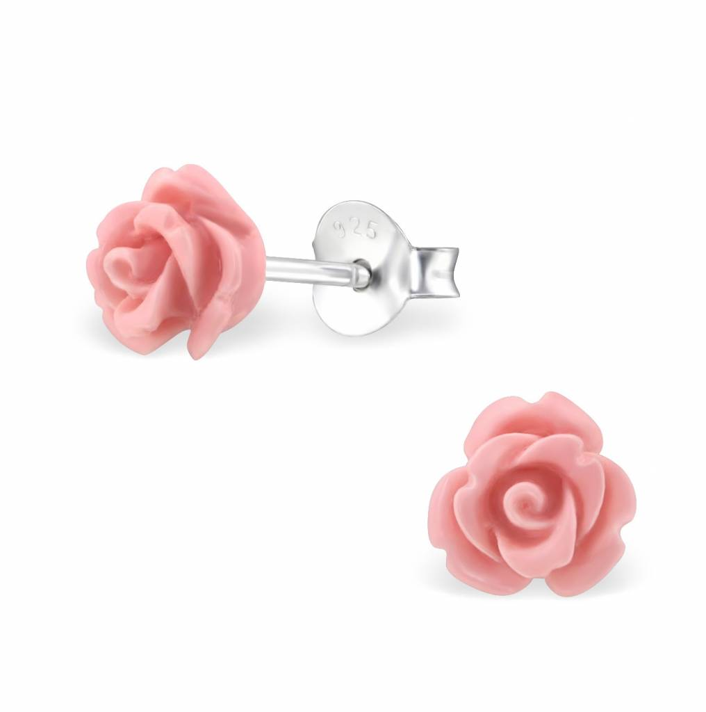 KAYA sieraden Silver earrings 'cute roses'