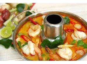Tom Yum Kung (Shrimp Soup)
