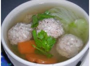 Pork Ball Soup (Gaeng Jued)