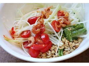 That Tam (Green Papaya Salat)