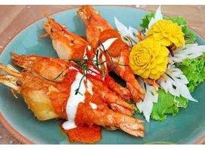 Pla chu chee salmon