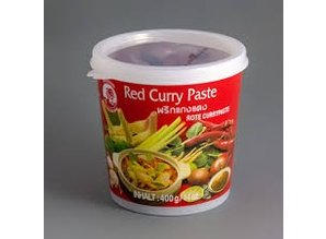 COCK Rode Currypaste 400g