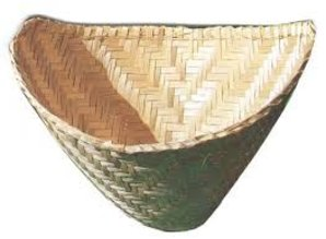 Bambus-Reis-Dampfer