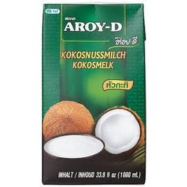 AROY-D Coconut milk (UHT) 1000ml