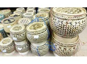 Laos Sticky Rice Serving Baskets - M