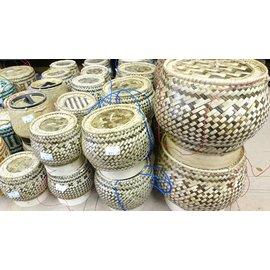 Laos Sticky Rice Serving Baskets - S