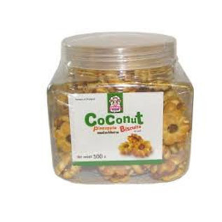 Coconut Pineapple Biscuits 500g