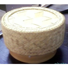 New Thai Sticky Rice Cooker Steamer Bamboo Basket For Electric Rice Cooker Pot 1.0 Ltr.
