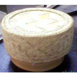 Nieuwe Thaise Sticky Rice Cooker Steamer Bamboo Basket voor elektrische rijstkoker Pot 1,0 ltr.