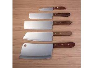 KIWI Thai Kog Knife Rektangulær Blade # 17cm
