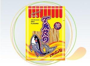 TARO Pesce Snack piccante aromatizzata