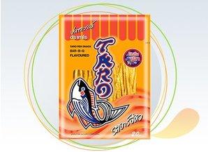 TARO Fish Snack Bar-BQ Smagspræget