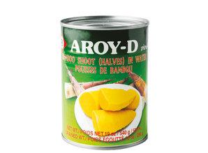 AROY-D Bamboo Shoot (halves) in water