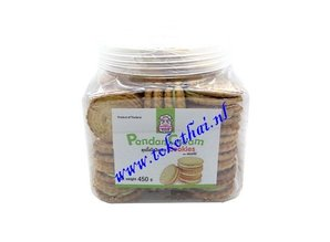 Pandan Creme Cookies