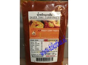 Sour Thai karry pasta