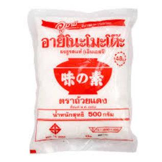 AJI-NO-MOTO Red Bowl Ajinomoto Monosodium Glutamate 500g