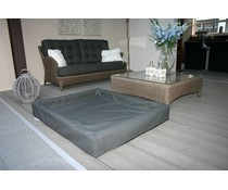Lobbes Lounge bed antraciet