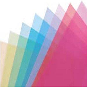 Gekleurde A4 overlay