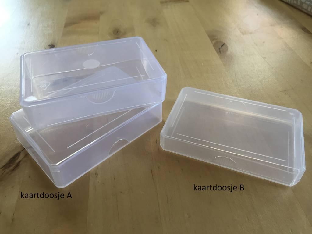 Kunststof kaartdoosje leestotaalshop for Plastic doosjes