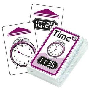 Oefenkaartjes voor klokkijken