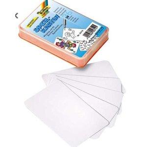 Blanco speelkaarten in doosje