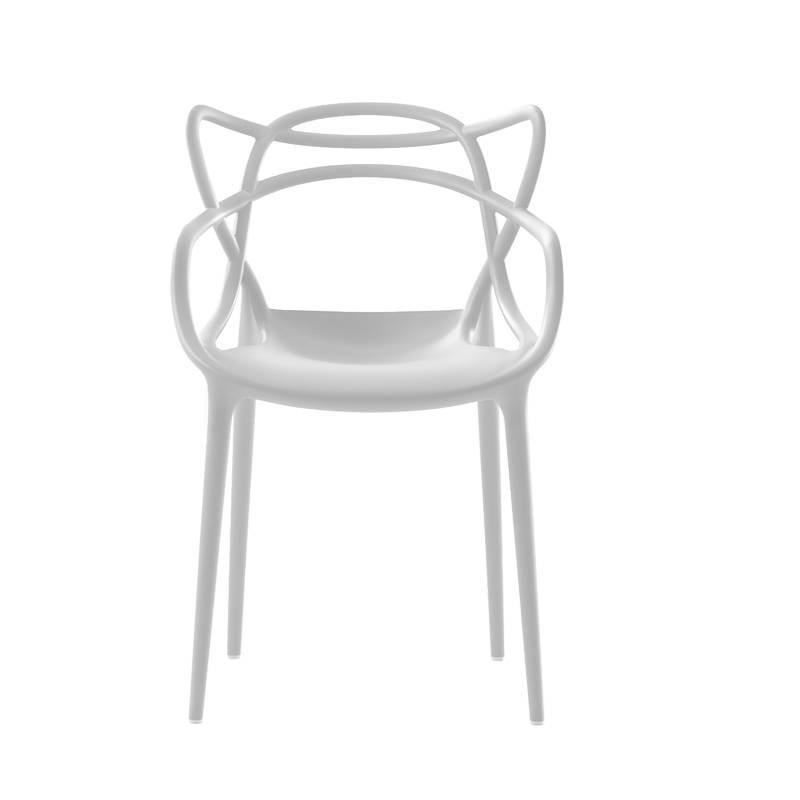 Kartell kartell masters stoel in wit 5 1 gratis design originals - Stoelen kartell verkoop ...