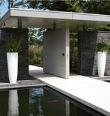 Elho Pure Soft Round Extreme High est le pot idéal pour intérieur et extérieur!