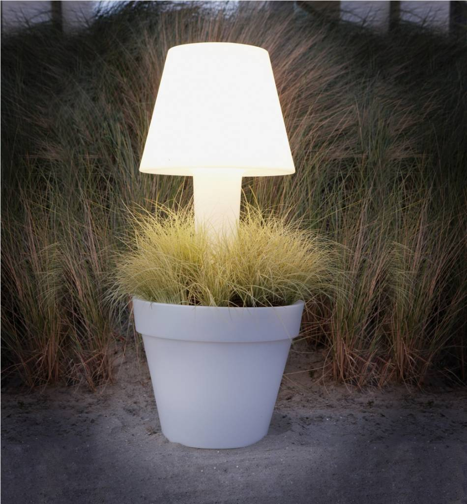 Elho Pure® Twilight - De verlichte bloempot met stijl voor uw terras ...