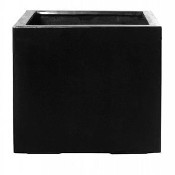 Fiberstone Jumbo XXL - Stijlvolle, grote bloembak in zwart en grijs